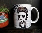 Frida Mug by Lupe Flores
