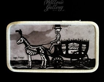 Funeral Carriage Patch by Lupe Flores
