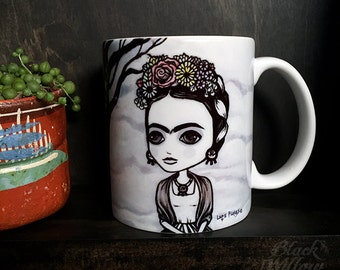 Frida Mug by Lupe Flores