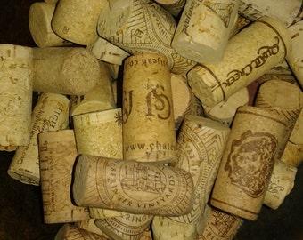 Wedding Decor/Lot of 50 Corks/Wine Corks
