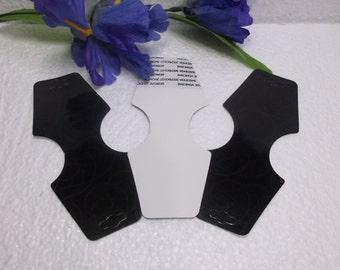 100 Black Necklace Scarfs Foldovers