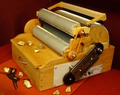 SCP, PRO-Gold Series, Double Wide, Electric, Triple Drum Carder