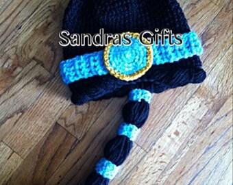 Princess Jasmine Crochet hat