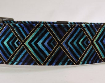 Dog Collar, Martingale Collar, Cat Collar - All Sizes - Plume
