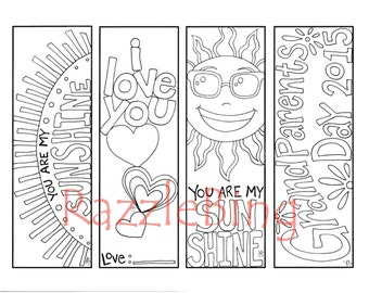 Printable Coloring PageZentangle Henna inspired Mom