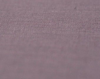Light purple soft linen fabric by half yard