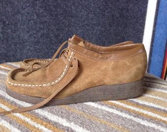 Vintage Desert Boots suede W7.5-8