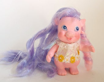 Dragon Lovely Locks Pink Dragon My Little Pony Friend 1986
