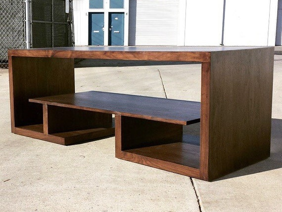 items similar to mid century modern tv console cerdenza tv stand on etsy. Black Bedroom Furniture Sets. Home Design Ideas