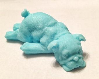 Soap: Downward Facing Dog Soap Bar, You Choose Color & Scent
