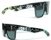 Sunglasses - Batman - Handpainted Custom Wayfarers