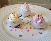 One Dozen Mini BombCakes Bath Bomb Cupcakes are Tub Treats for Kids of All Ages. Vegan Friendly, Free of Sulfates, Paraben and Phthalate!