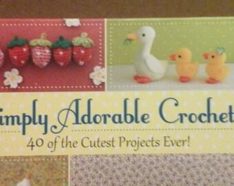 Simply Adorable Crochet Book
