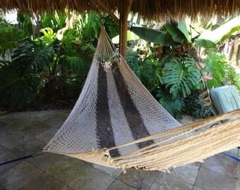 Hammocks! Adult sized cotton hand woven hammock from Guatemala.  Mayan made banana hammocks 5