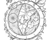 Papua New Guinea Coloring Page