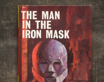 The Man in the Iron Mask 1960s book for children, Alexandre Dumas abridged