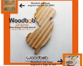 16'' Maple New Jersey State Cutting Board