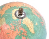 1930's Replogle Standard Globe 8 Inch Pre WWII