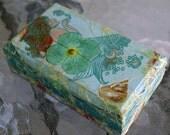 Mini Mermaid Decoupage Box
