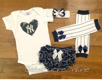 NY Yankees Game Day Outfit