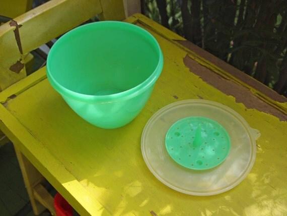 Lettuce Crisper Tupperware Plastic Storage Container Salad