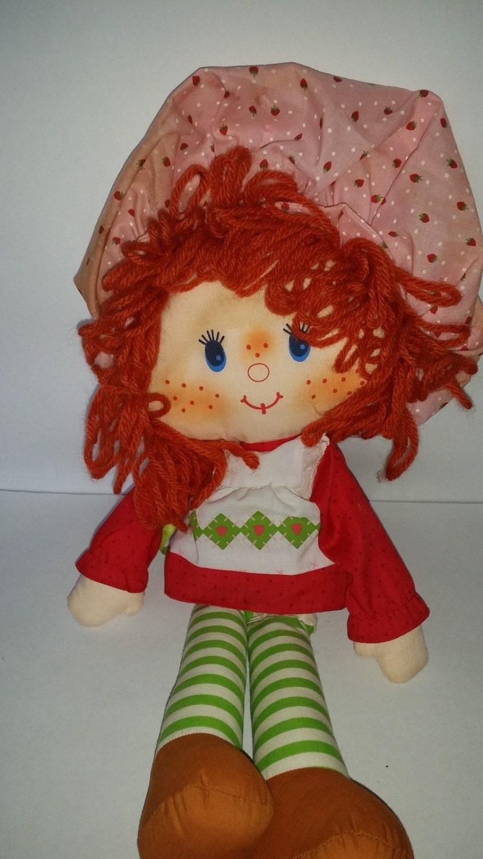80s Toy Dolls : Strawberry shortcake vtg doll toys s