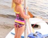 Retro Swimsuit for Girls
