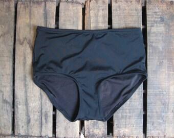 High waisted swim bottom