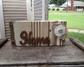Reclaimed Wood Home Sign, Shabby Chic Home Decor Sign, Home Mantle or Shelf Sitter Sign