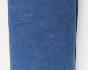 Free Ship -Denim 12x18 sheets 20% Merino Wool Felt Blend Fabric By the Yard from Woolhearts