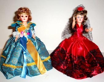 Two Vintage Storybook Dolls