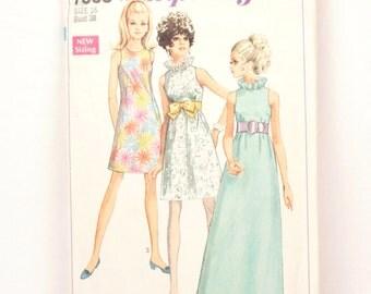 1960s Simplicity 7955 // a line dress