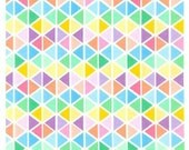 Sweet Trianges from Robert Kaufman's Rainbow Remix Collection by Ann Kelle