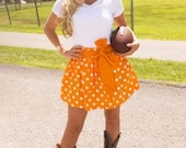SO Cute Game Day Skirt! Perfect for tailgating in Vols style!