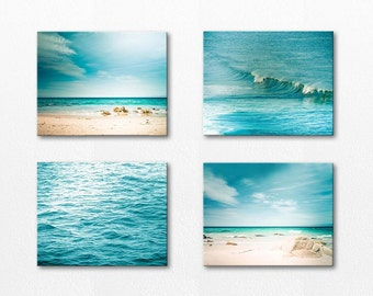 canvas wall art set wall hanging ocean canvas photography set canvas prints fine art photography nautical decor beach canvas christmas gift