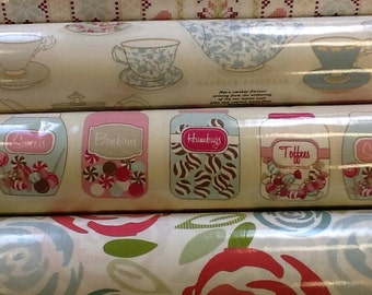 Fryetts pvc vinyl tablecloth by the half metre in vintage designs
