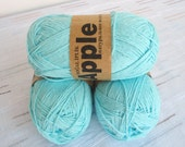 turquoise Bamboo yarn,Each skein: 100 gr, knitting yarn