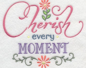 Cherish Every Moment - Fabric - Towels