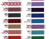 "Glitter permanent adhesive vinyl 12"" X 12"" sheets variety pack"