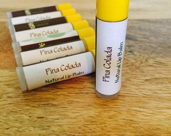 Pina Colada Lip Balm, Organic and All Natural