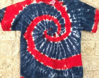 Tie Dye Spiral, Child Medium