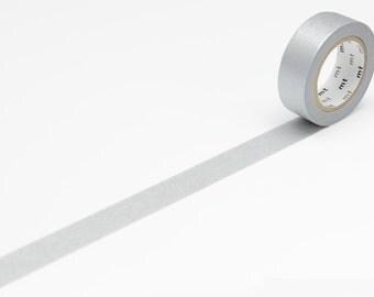 Washi Masking Tape · silber 15mm