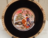 The Art of Chokin Decorative Plate from Japan