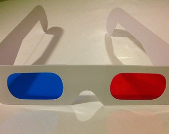 Screen Accurate Tennant 3D Glasses - Tenth/10th Doctor Who Cosplay Prop