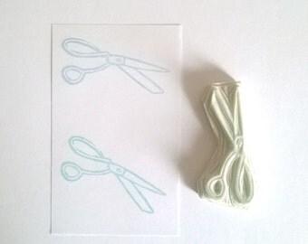 Scissors stamp