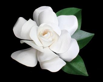 Gardenia Pin Large