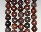 8mm Muscovite Gemstone Grade AA Brown Round Loose Beads 16 inch Full Strand (90185484-859)