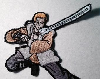 Star Wars Luke Skywalker Iron-on Sew-on Patch