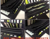 Add On - Add zippered pockets to your card holder or wallet, Dave Ramsey money system