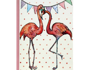 I Love You Mingo - A6 Greetings Card by palicearker